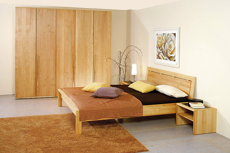 schlafzimmer team 7 naturholzbetten f 252 r ihr. Black Bedroom Furniture Sets. Home Design Ideas