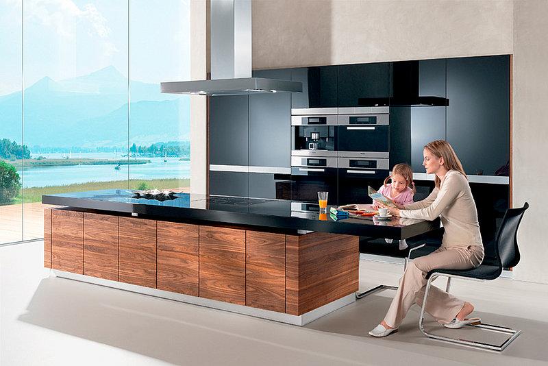 bilder wohnzimmer mehrteilig bilder k che mit kochinsel bar theke. Black Bedroom Furniture Sets. Home Design Ideas